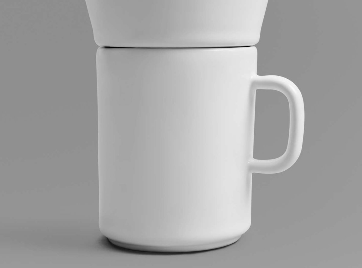 Time In Pour Over Coffee Maker Mug Set