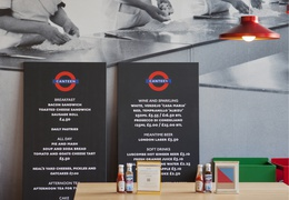 Transport For London Canteen Pop-up restaurant